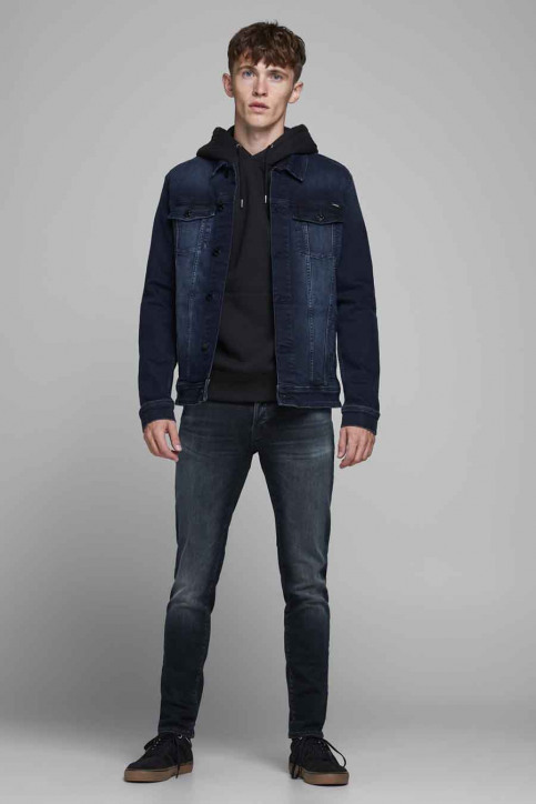 JACK & JONES JEANS INTELLIGENC Jeans slim denim 12175893_BLUE DENIM img2