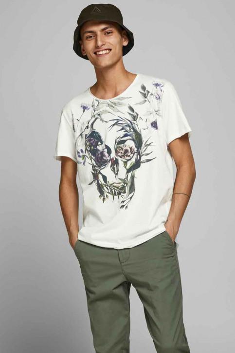 ORIGINALS BY JACK & JONES T-shirts (korte mouwen) wit 12176007_CLOUD DANCER img1