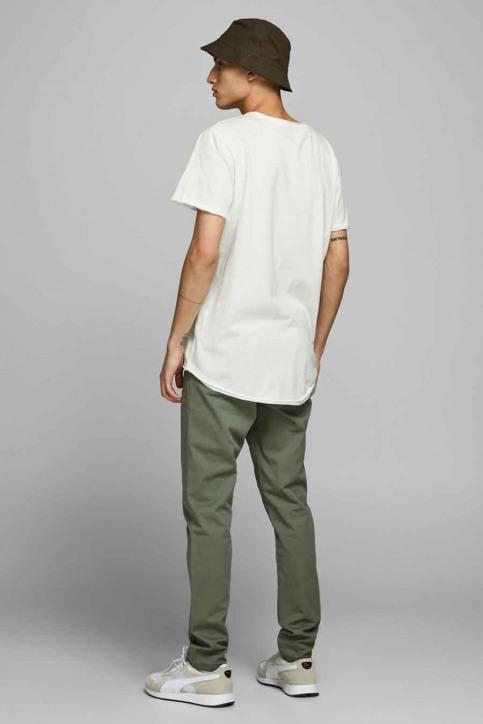 ORIGINALS BY JACK & JONES T-shirts (korte mouwen) wit 12176007_CLOUD DANCER img3