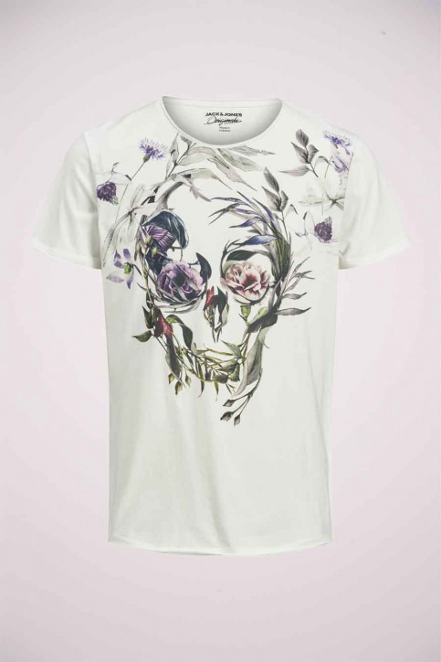 ORIGINALS BY JACK & JONES T-shirts (korte mouwen) wit 12176007_CLOUD DANCER img4