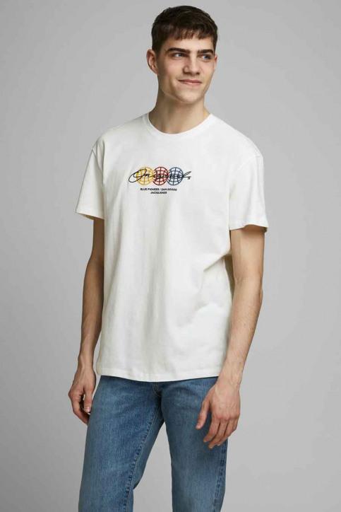 ORIGINALS BY JACK & JONES T-shirts (korte mouwen) wit 12176729_CLOUD DANCER RE img1