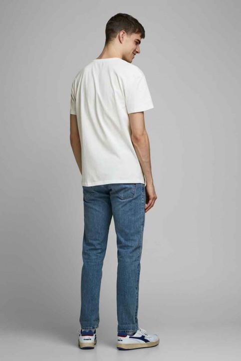 ORIGINALS BY JACK & JONES T-shirts (korte mouwen) wit 12176729_CLOUD DANCER RE img3