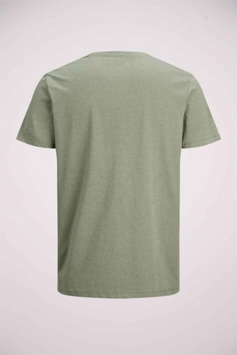ORIGINALS BY JACK & JONES T-shirts (manches courtes) vert 12176731_DUSTY OLIVE img2