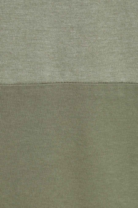 ORIGINALS BY JACK & JONES T-shirts (manches courtes) vert 12176731_DUSTY OLIVE img3
