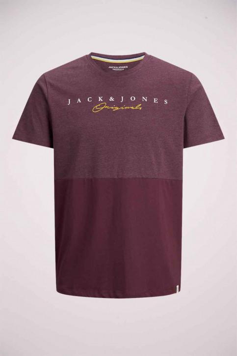 ORIGINALS BY JACK & JONES T-shirts (korte mouwen) paars 12176731_FIG img1