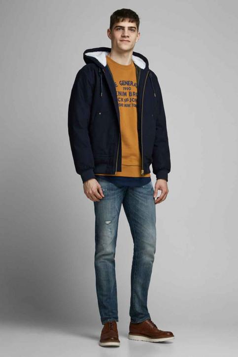 ORIGINALS BY JACK & JONES Sweaters met ronde hals beige 12176765_RUBBER img2