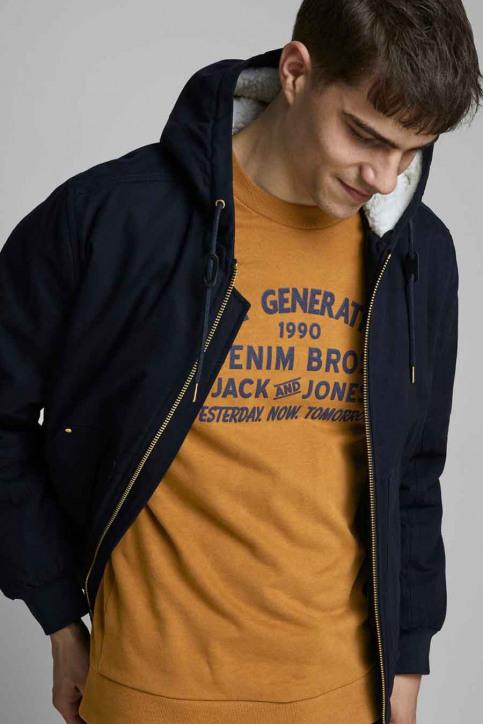 ORIGINALS BY JACK & JONES Sweaters met ronde hals beige 12176765_RUBBER img4
