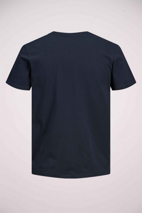 ORIGINALS BY JACK & JONES T-shirts (manches courtes) bleu 12176768_NAVY BLAZER REG img8