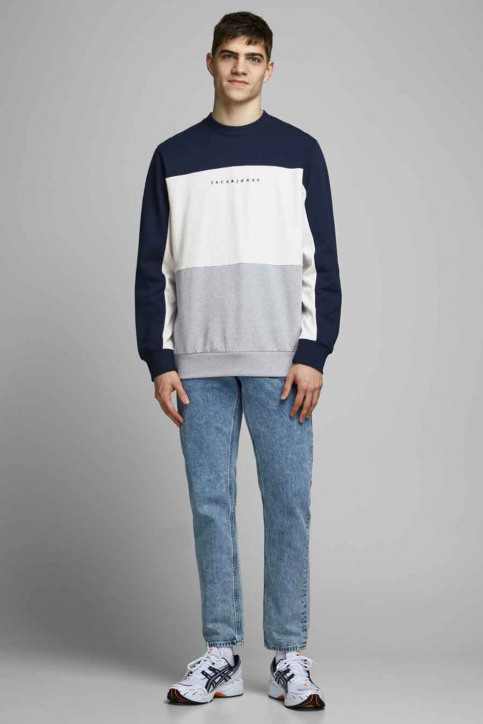 ORIGINALS BY JACK & JONES Sweaters met ronde hals blauw 12176810_NAVY BLAZER AUT img6