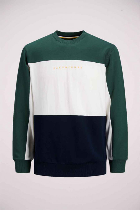 ORIGINALS BY JACK & JONES Sweaters met ronde hals groen 12176810_TREKKING GREEN img7