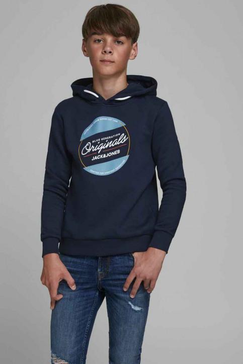 J & J Kids Sweaters avec capuchon bleu 12176885_NAVY BLAZER img1