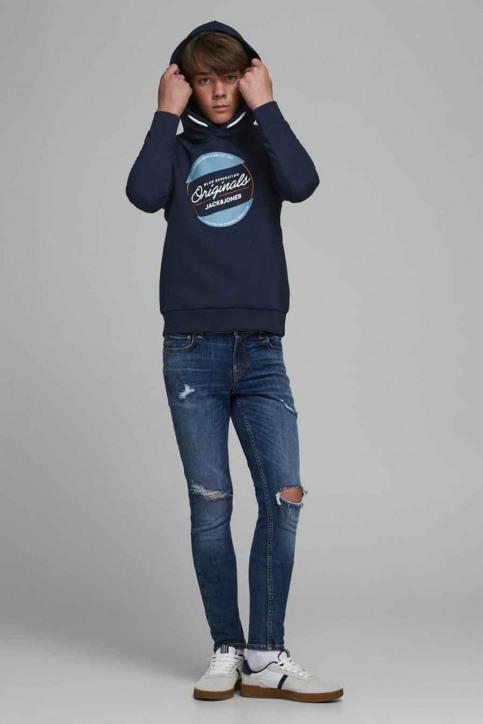 J & J Kids Sweaters avec capuchon bleu 12176885_NAVY BLAZER img2