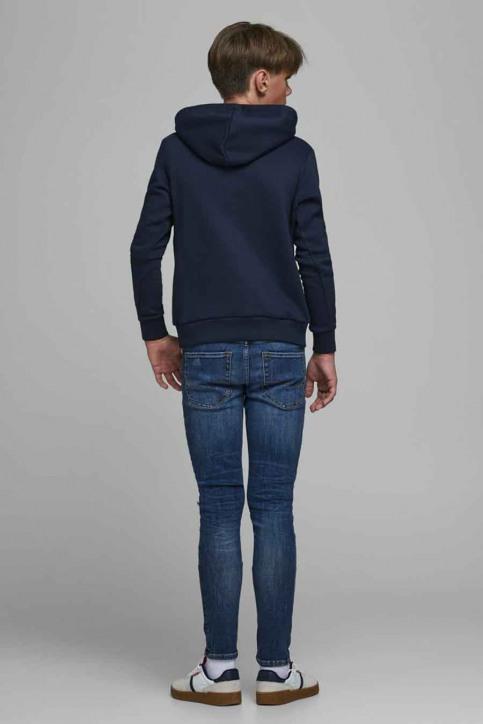 J & J Kids Sweaters avec capuchon bleu 12176885_NAVY BLAZER img3