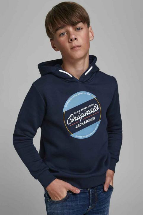 J & J Kids Sweaters avec capuchon bleu 12176885_NAVY BLAZER img4