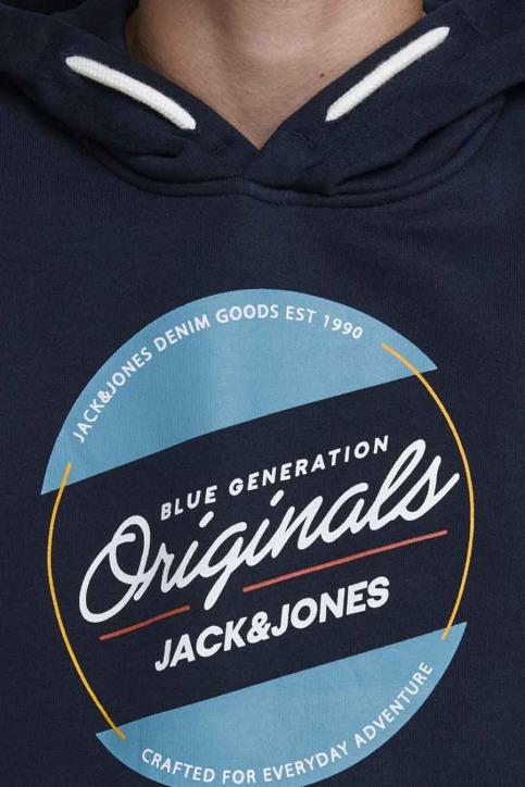 J & J Kids Sweaters avec capuchon bleu 12176885_NAVY BLAZER img5