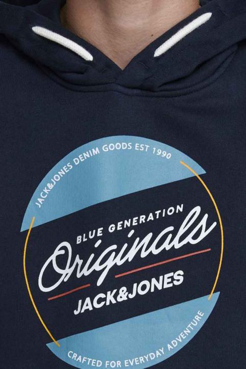 J & J Kids Sweaters avec capuchon bleu 12176885_NAVY BLAZER img7