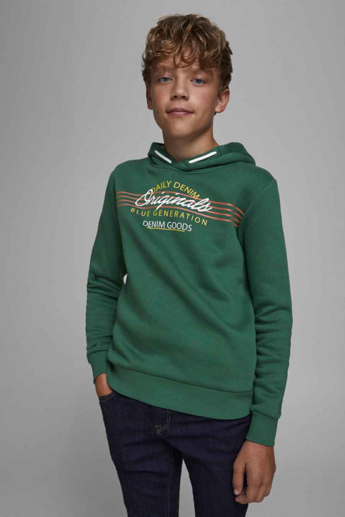 J & J Kids Sweaters avec capuchon VERT 12176885_TREKKING GREEN img4