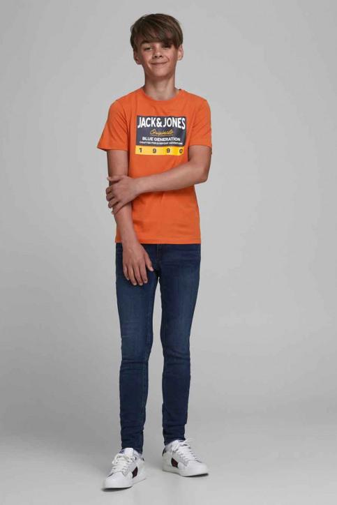 J & J Kids T-shirts manches courtes orange 12176887_BURNT OCHRE img2