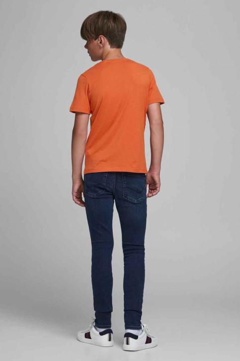 J & J Kids T-shirts manches courtes orange 12176887_BURNT OCHRE img3