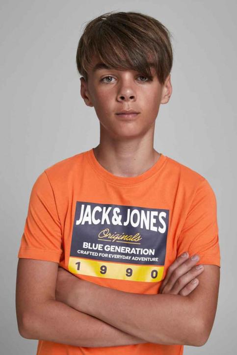 J & J Kids T-shirts manches courtes orange 12176887_BURNT OCHRE img4