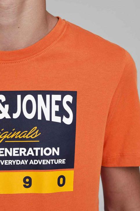 J & J Kids T-shirts manches courtes orange 12176887_BURNT OCHRE img5