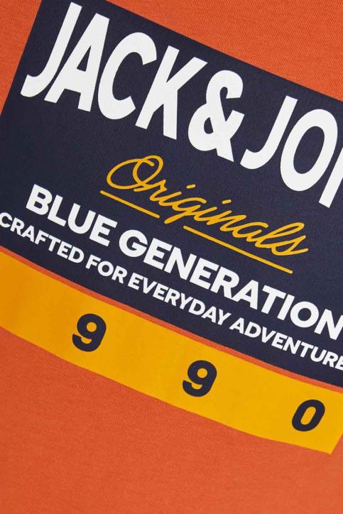 J & J Kids T-shirts manches courtes orange 12176887_BURNT OCHRE img6