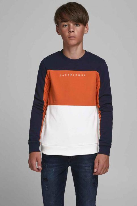 J & J Kids Sweaters col O orange 12176901_BURNT OCHRE img1