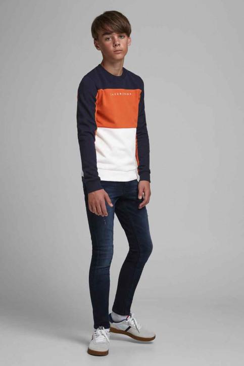 J & J Kids Sweaters col O orange 12176901_BURNT OCHRE img2