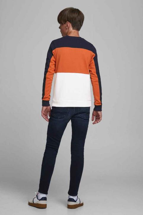 J & J Kids Sweaters col O orange 12176901_BURNT OCHRE img3