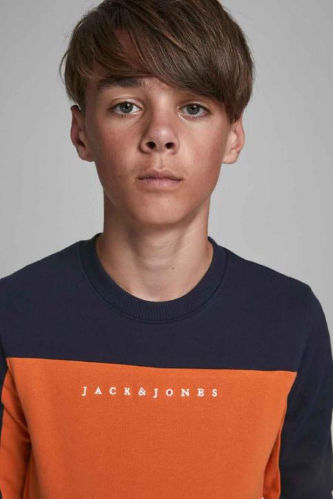 J & J Kids Sweaters col O orange 12176901_BURNT OCHRE img4