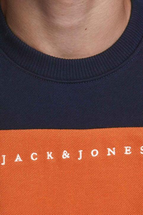 J & J Kids Sweaters col O orange 12176901_BURNT OCHRE img5