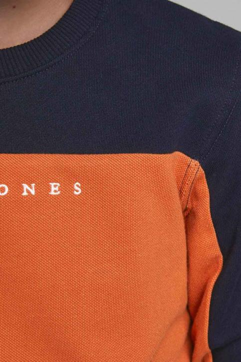 J & J Kids Sweaters col O orange 12176901_BURNT OCHRE img6