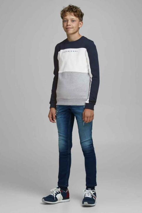 J & J Kids Sweaters col O bleu 12176901_NAVY BLAZER img2