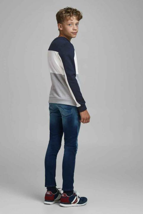 J & J Kids Sweaters col O bleu 12176901_NAVY BLAZER img3