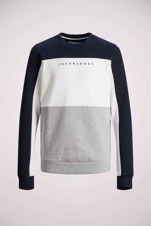 J & J Kids Sweaters col O bleu 12176901_NAVY BLAZER img7