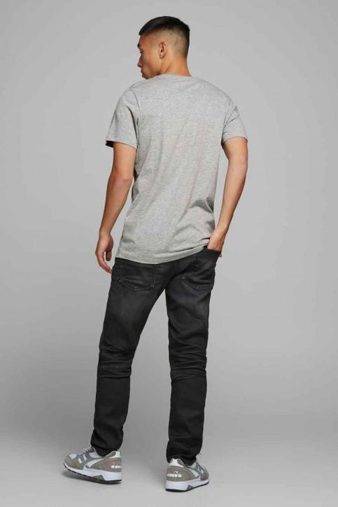 ORIGINALS BY JACK & JONES T-shirts (korte mouwen) grijs 12177286_LIGHT GREY MELA img3