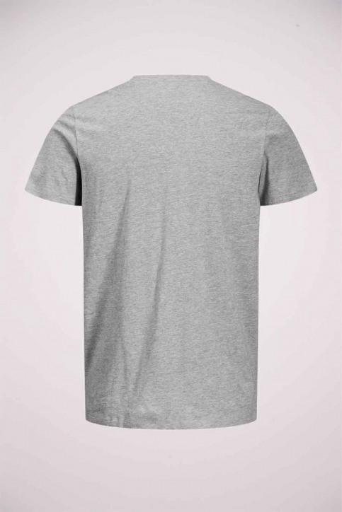 ORIGINALS BY JACK & JONES T-shirts (korte mouwen) grijs 12177286_LIGHT GREY MELA img5