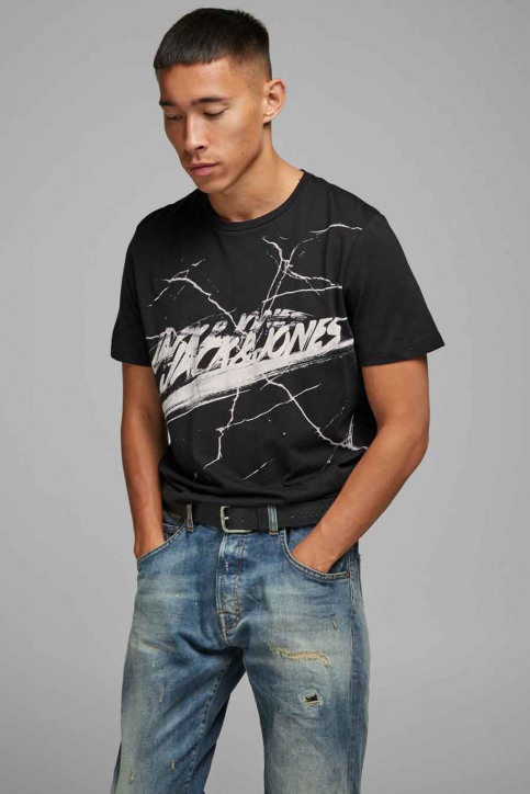 ORIGINALS BY JACK & JONES T-shirts (korte mouwen) zwart 12177286_TAP SHOE img1