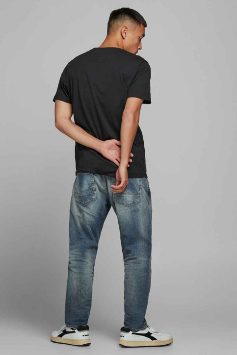 ORIGINALS BY JACK & JONES T-shirts (korte mouwen) zwart 12177286_TAP SHOE img3