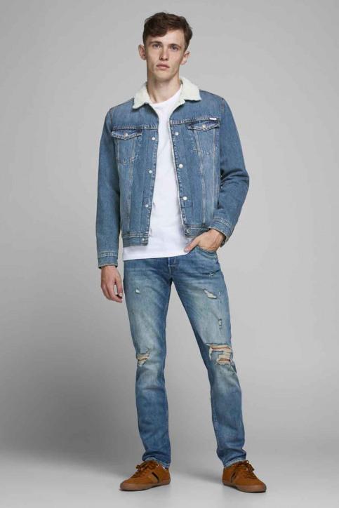 JACK & JONES JEANS INTELLIGENC Jassen (jeans) denim 12177623_AKM 936 BLUE DE img2