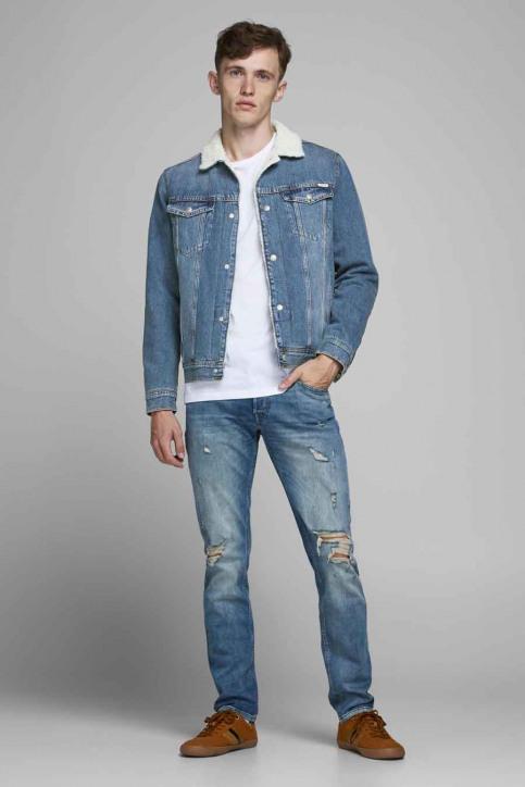 JACK & JONES JEANS INTELLIGENC Jassen (jeans) denim 12177623_AKM 936 BLUE DE img7