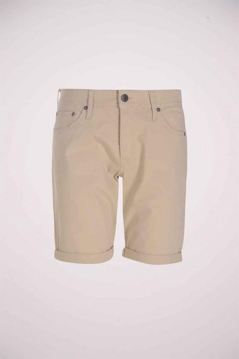 JACK & JONES JEANS INTELLIGENC Shorts wit 12178476_WHITE PEPPER img1
