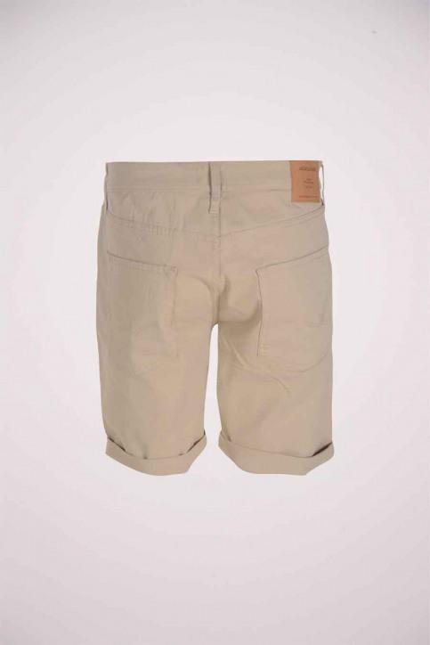 JACK & JONES JEANS INTELLIGENC Shorts wit 12178476_WHITE PEPPER img2