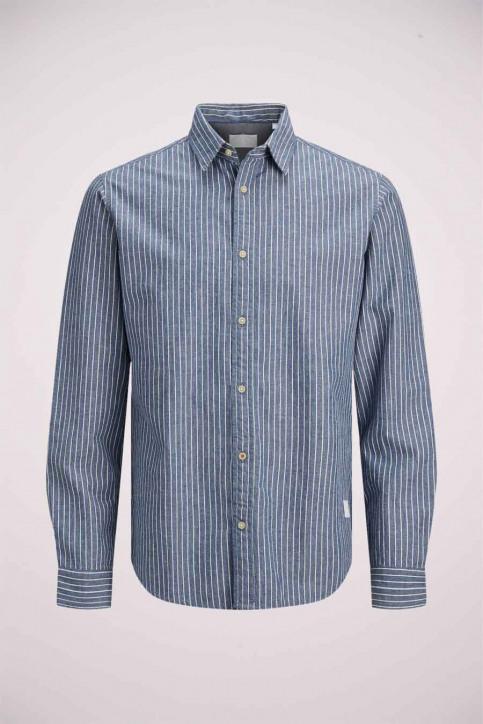J & J Kids Chemises manches longues bleu 12178693_LIGHT BLUE img1
