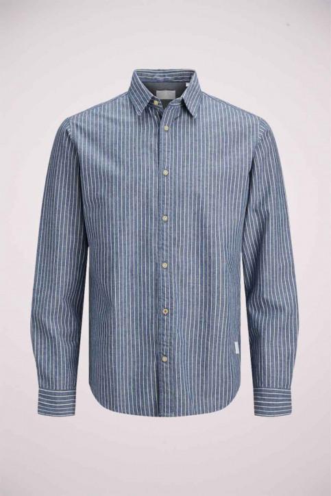 J & J Kids Chemises manches longues bleu 12178693_LIGHT BLUE img2