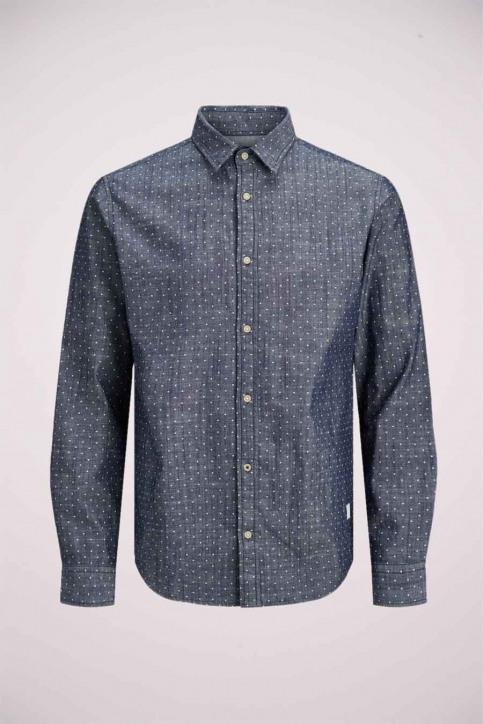 J & J Kids Chemises manches longues bleu 12178693_NAVY BLAZER img2
