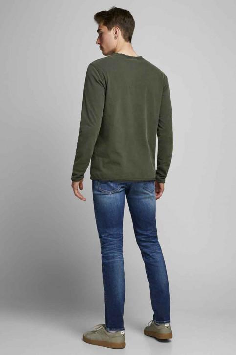 JACK & JONES JEANS INTELLIGENC Jeans tapered denim 12178859_JOS2036 MID BLU img3
