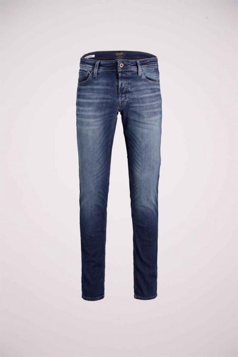 JACK & JONES JEANS INTELLIGENC Jeans tapered denim 12178859_JOS2036 MID BLU img5
