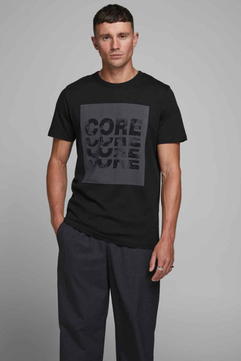 JACK & JONES T-shirts (manches courtes) noir 12179528_BLACK img1