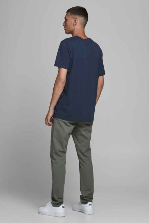 JACK & JONES T-shirts (manches courtes) bleu 12179528_NAVY BLAZER img3